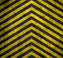 Chevrons - Yellow and Black by wightjester