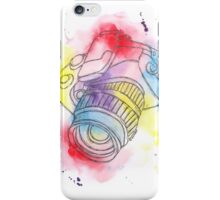 Camera Obscura Illustrative Watercolour iPhone Case/Skin