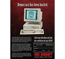 Mr. Robot 90s Ad Photographic Print