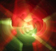 Spinning Lightsabre by Elaine Farmer