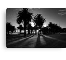 Sundown Riverside Drive Canvas Print