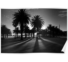 Sundown Riverside Drive Poster