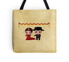 Spanish Chibis Tote Bag