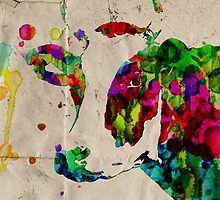 Colorful Cow Rainbow 2 - Prints and Posters by Robert Erod by Robert  Erod