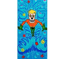 Aquaman Day of the Dead Photographic Print