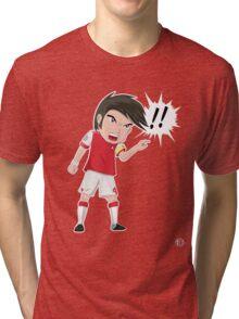 Chibi Cesc!! Tri-blend T-Shirt