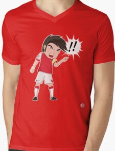 Chibi Cesc!! Mens V-Neck T-Shirt