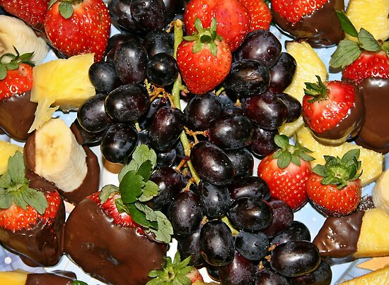Fruitilicious!!! by Robin D. Overacre