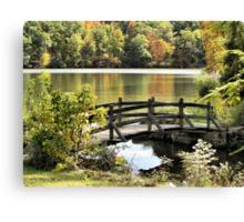 Bridge Walk Canvas Print
