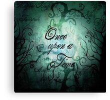 Once Upon A Time ~ Fairytale Forest Canvas Print