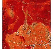 Animals - Rock Paintings 2001 Photographic Print