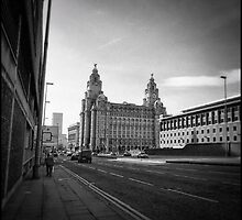 Liverpool in the Morning by Mike Lewis