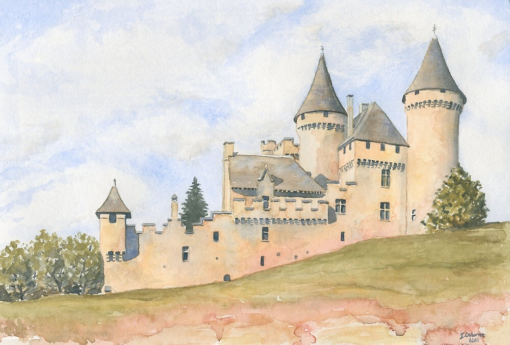 Château Puymartin, France by ian osborne