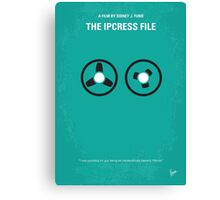 No092 My The Ipcress File minimal movie poster Canvas Print