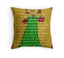 Skilderprentjies Throw Pillow
