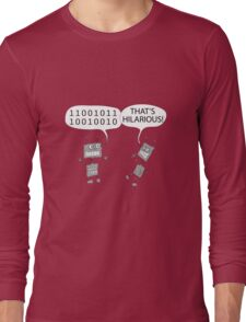 Jokes in binary Long Sleeve T-Shirt