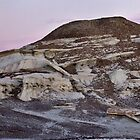 Bisti Moonrise by TheBlindHog