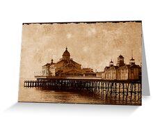 Eastbourne Pier, Sussex, UK Greeting Card