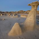 Bisti Hoodoo at Dusk by Mitchell Tillison