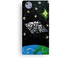 General Zod Day of the Dead Canvas Print