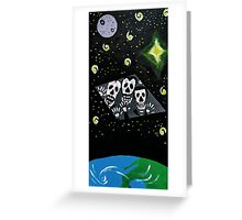 General Zod Day of the Dead Greeting Card