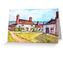 Gull Cottage. Greeting Card