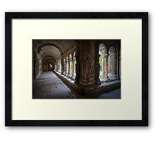 Cloitre Saint Trophime Framed Print