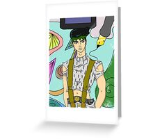 Rohan Kishibe Greeting Card