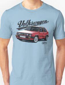 volkswagen golf mk.2 T-Shirt