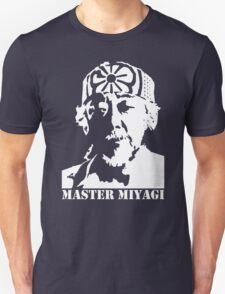 Mr Miyagi Karate Kid stencil Unisex T-Shirt