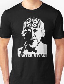 Mr Miyagi Karate Kid stencil T-Shirt