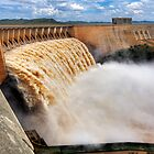 Gariep Dam - Full Flow by Rob  Southey