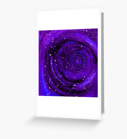 Lost In Space & Time Greeting Card