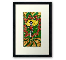 Robin Day of the Dead Framed Print