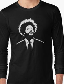 Questlove The Roots stencil Long Sleeve T-Shirt