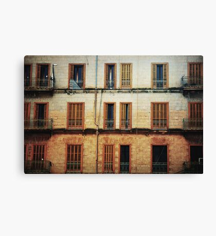 Open and Shut Canvas Print