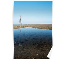 Pool of Deep Blue - Swalecliffe Poster
