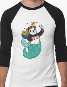 Panda of awesomeness Men's Baseball ¾ T-Shirt