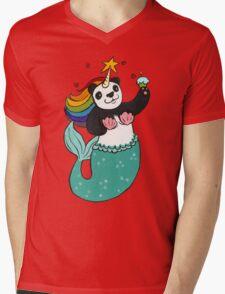 Panda of awesomeness Mens V-Neck T-Shirt