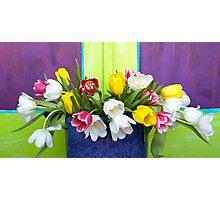 Vibrant Bouquet Photographic Print