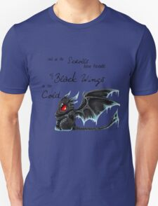 Black Wings Unisex T-Shirt