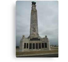 World War 2 Memorial Portsmouth Canvas Print