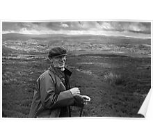 Jack 'Tycha', Tennant Farmer, Bala, North Wales Poster