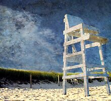 Cape Cod Life Guard Chair by Ron LaFond