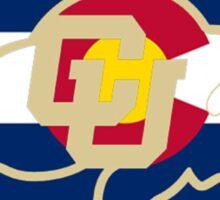 University of Colorado Boulder / Colorado Flag Sticker