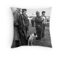 International Sheep Dog Trials, Bala, North Wales Throw Pillow