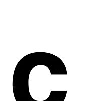 Helvetica Lowercase - c by edgargarcia