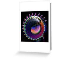 Lizard Dreams Greeting Card
