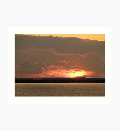 Lake Winnebago Sunset Art Print