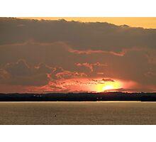 Lake Winnebago Sunset Photographic Print
